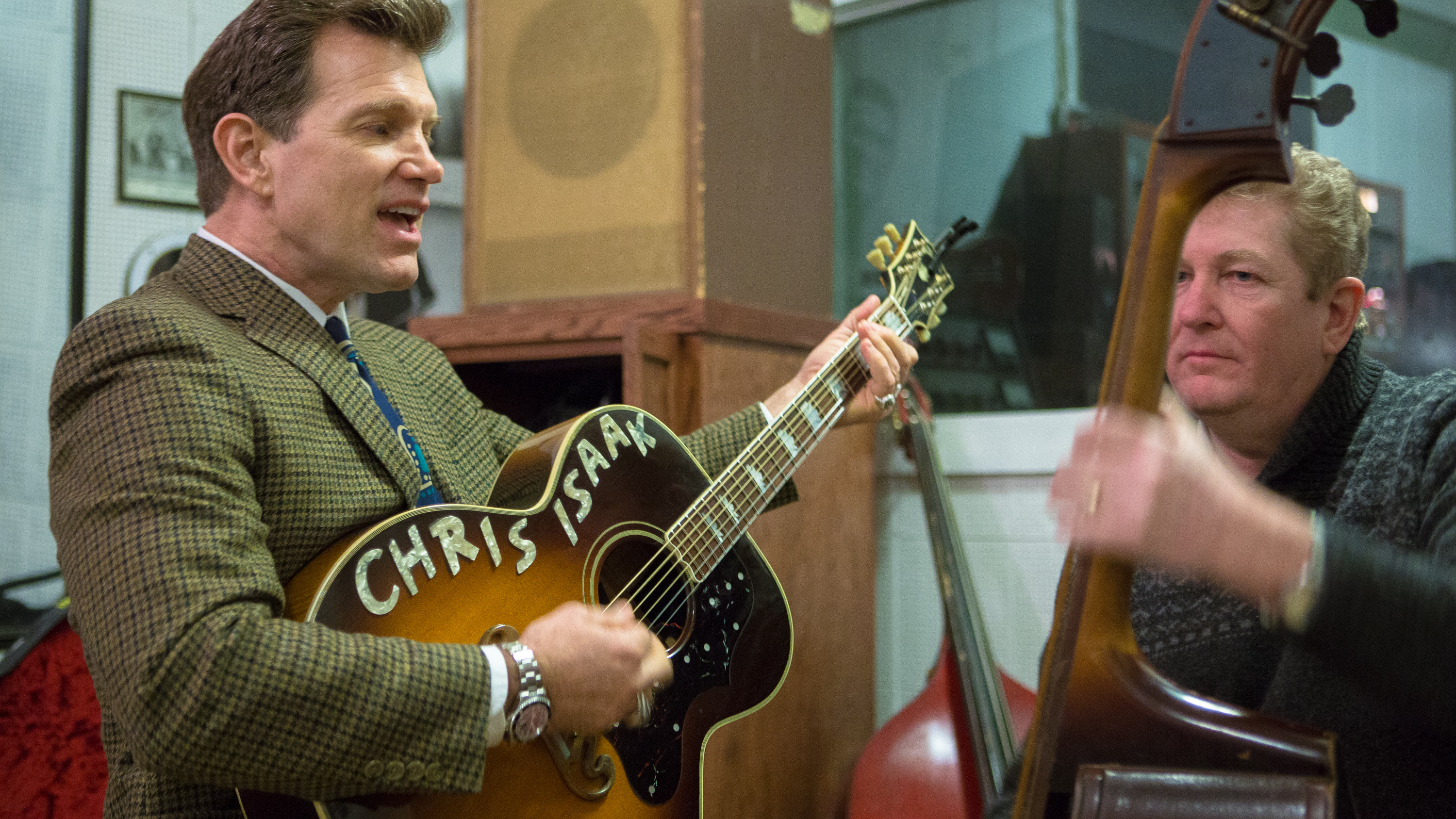 Chris Isaak in Sun Studio