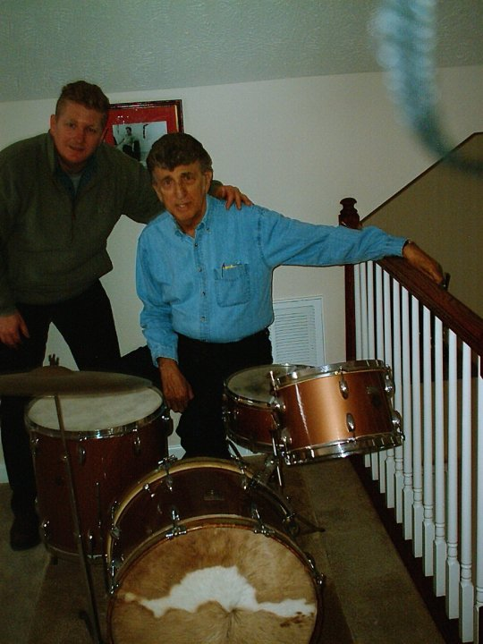 DJ Fontana original drum kit
