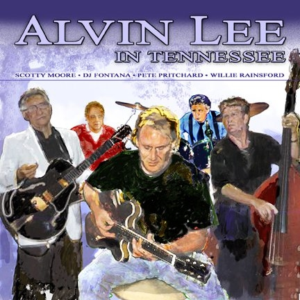Alvin Lee in Tennessee album cover