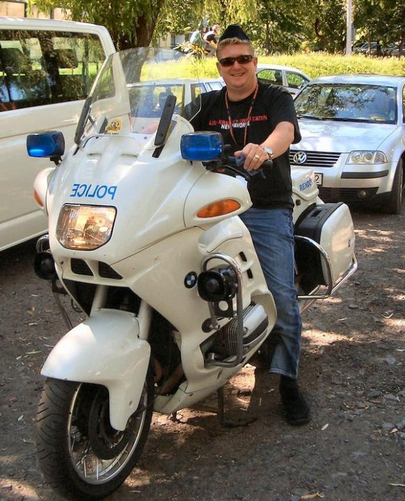 police bike Hungary