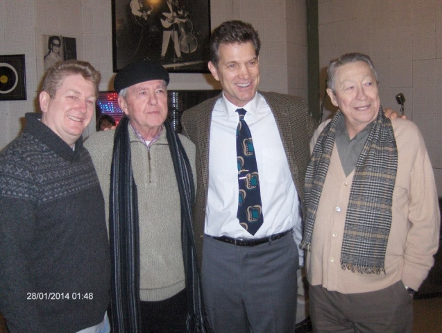 Chris Isaak Scotty Moore and JM van Eaton